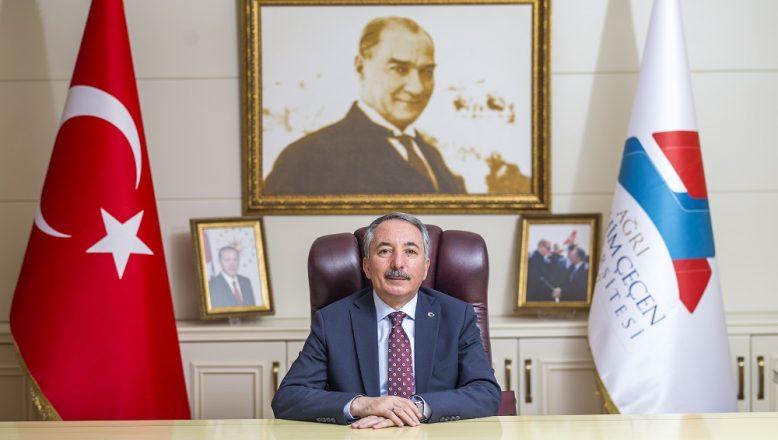 """AİÇÜ Rektörü Karabulut'un """"15 Temmuz Demokrasi ve Milli Birlik Günü"""" MesajI"""