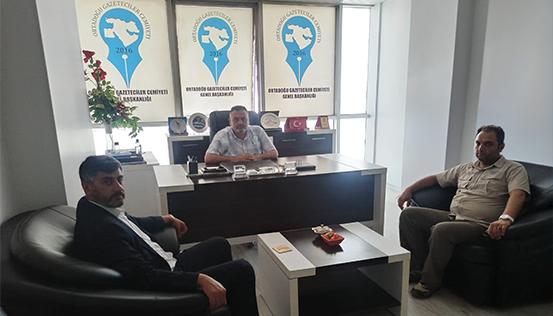 İş Adamı Faruk Tayhan'dan OGC Ziyareti