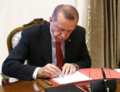 Cumhurbaşkanı Erdoğan İmzaladı, Resmi Gazetede Yayımlandı