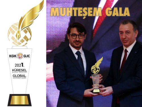 KGK Küresel Başarı Ödülleri muhteşem Gala ile sahiplerini buldu