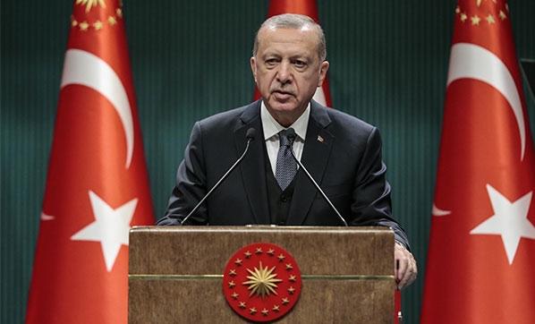"""Cumhurbaşkanı Erdoğan: 5 il """"Genel Hayata Etkili Afet Bölgesi"""" ilan edildi"""