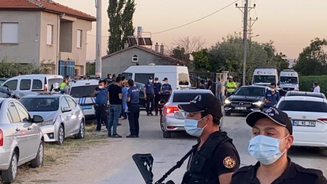 Konya'da  Ağrı'lı Ailenin Katledilmesi  İlgili Çok Sayıda Gözaltı