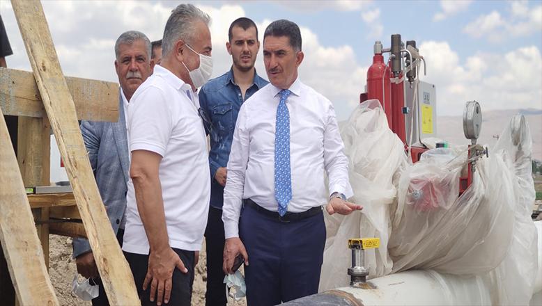 Müjde Ekrem Çelebi'den geldi :Patnos'ta kasım ayında doğalgaz meşalesi yanacak