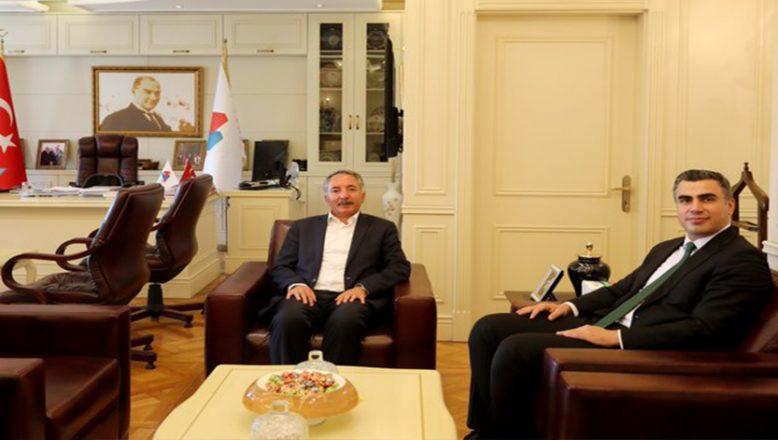 AİÇÜ Rektörü Prof. Dr. KARABULUT, Ağrı Cumhuriyet Başsavcısı CAN'ı Misafir Etti