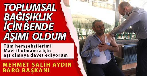 ASTOP AŞI KAMPANYASINA DESTEK VERİYOR