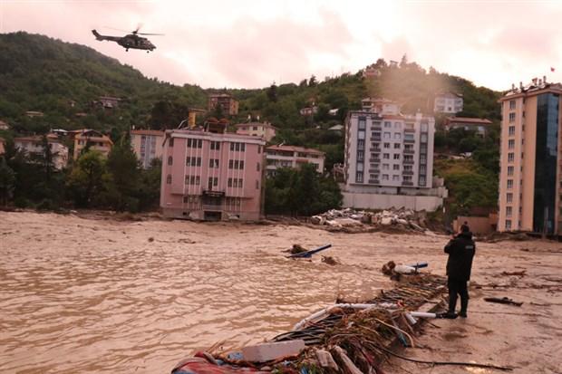 Kastamonu'da yaşanan sel felaketinde 9 kişi hayatını kaybetti