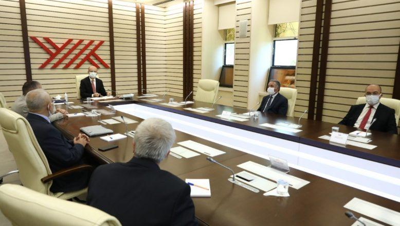 AİÇÜ Rektörü Karabulut'tan YÖK Başkanı Özvar'a Hayırlı Olsun Ziyareti