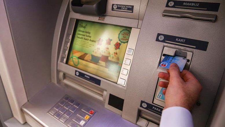 ATM'den EFT işlemlerinden alınacak ücretler değişti