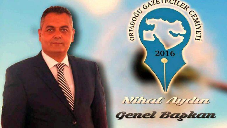 """OGC Genel Başkanı Aydın """"AŞI YAŞATIR, KOVİD-19 ÖLDÜRÜR"""""""