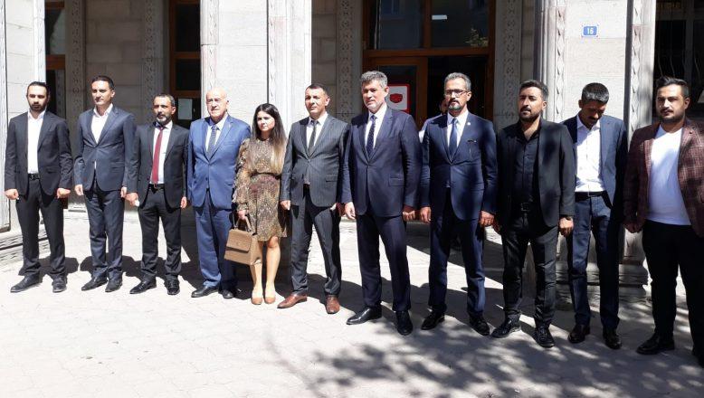 TBB Başkanı Metin Feyzioğlu Ağrı'da