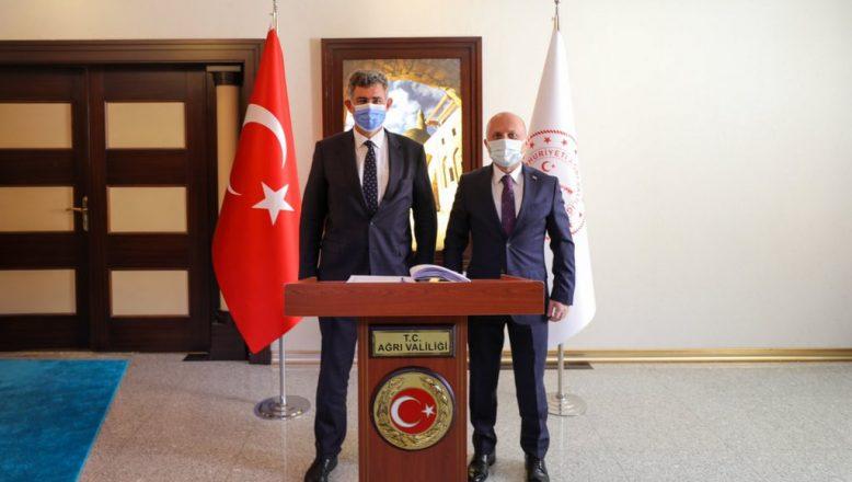 TBB Başkanı Feyzioğlu, Vali Dr. Osman Varol'u Ziyaret Etti
