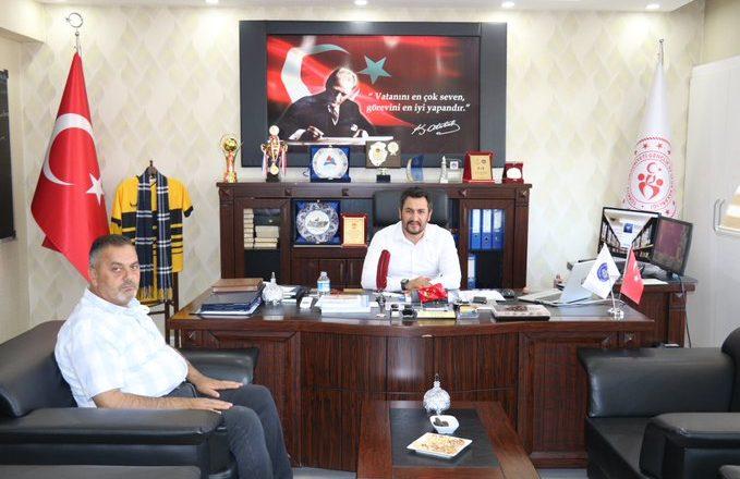 OGC Genel Başkanı Aydın'dan, Ağrı GSİM Çalgan'a Hayırlı Olsun Ziyareti