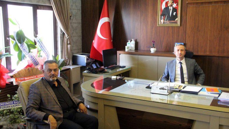 OGC Genel Başkanı Aydın'dan, İl Milli Eğitim Müdürü Kökrek'e Ziyaret
