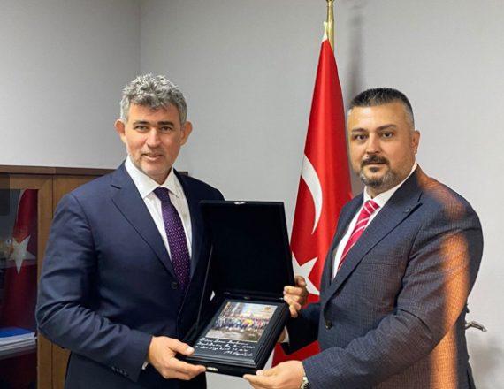 TBB Başkanı Metin Feyzioğlu Düzce'ye giderek ziyaretlerde bulundu