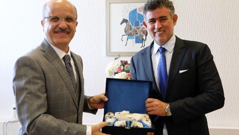 TBB Başkanı Av. Prof. Dr. Metin Feyzioğlu'ndan ziyaret
