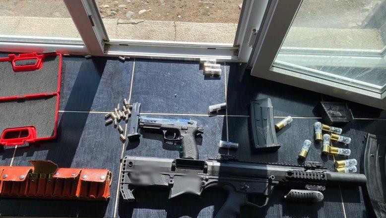 Ağrı'da silah kaçakçılığını önlemeye yönelik çalışmada iki kişi tutuklandı